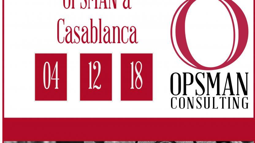 OPSMAN à Casablanca le 4 décembre 2018
